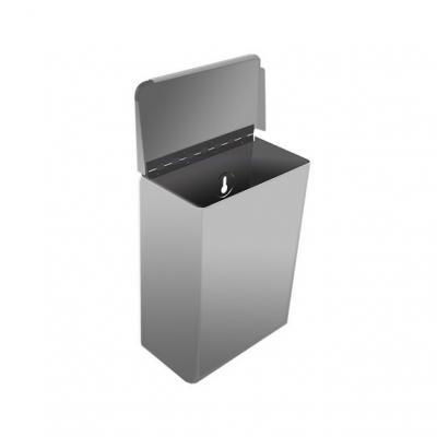 intim hulladékgyűjtő, fali, fedeles, 5,5 L 1.