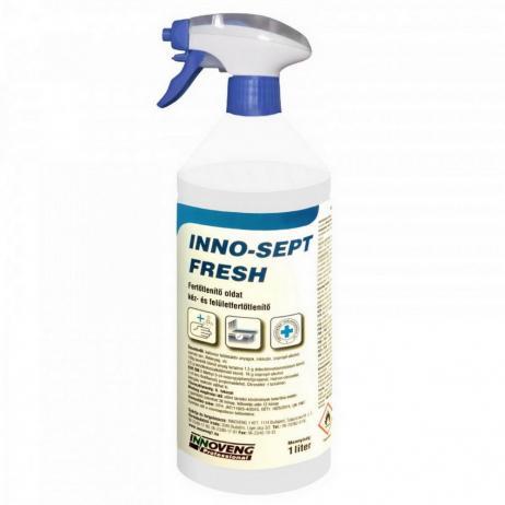 INNO-SEPT FRESH kéz- és felületfertőtlenítő szóróf 1.